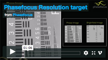 Phasefocus Resolution Target